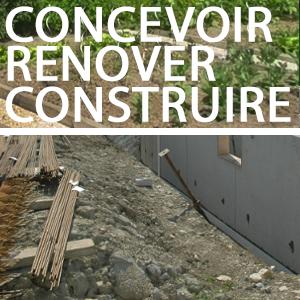 CONCEVOIR un projet architectural respectueux de l'Homme et de l'environnement - RÉNOVER OU CONSTRUIRE un bâtiment biocompatible et écologique